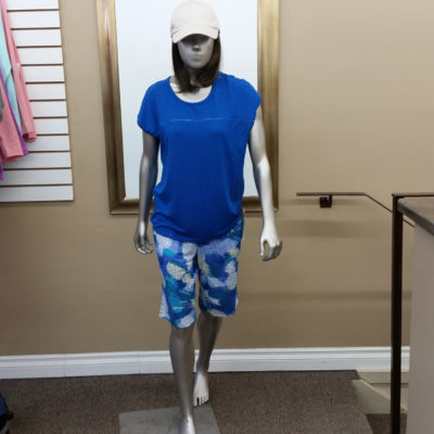 Blue Hot Flash PJ set